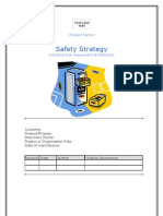 7.1 Machinery Safety Strategy
