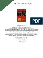 Think & Sell like a CEO (Tony Parinello).pdf