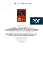 Think & Sell like a CEO (Tony Parinello).pdf