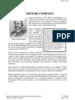 Keely Motor