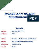 RS232 485 Fundamental