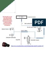 Esquema elétrico Iluminação de Segurança Báscula