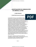 Barbero_Retos a la investigación en comunicación en América Latina_BB