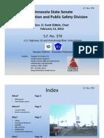 SF 378 presentation (February 13, 2013)