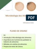 Introdução a Micro Alimentos