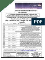 Cincinnati Change Road to Recovery IV Agenda