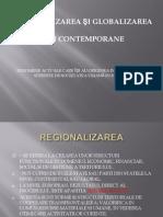 Globalizarea Si Regionalizarea
