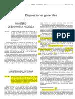 Resolucion DGGC 26-11-98 Cajas Fuertes BOE