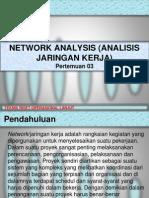 03. Network Analysis (Analisis Jaringan Kerja)Tro