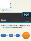 Zoom's Unified Meeting Experience