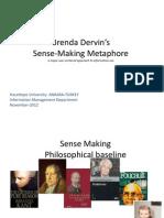 Dervin Sense Making Metaphor Hakan Yildiz