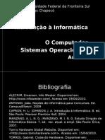 Aula 15 A. Fundamentos de Informática e Sistemas Operacionais