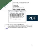 Fundamental Counting Principle and Permutations