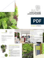 Urban Greening Advanced systems_Terapia Urbana