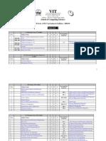 VIT CSE BTech Course Plan