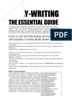 Essay Writing Guide Adapted
