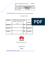 GSM BSS Network KPI Optimization Manual