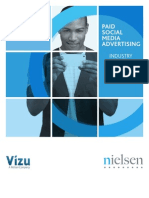 Nielsen Paid Social Media Advertisement  Report 2013