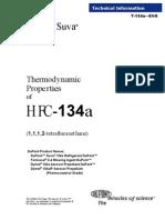 Refrigerante 134a Standard Completo.