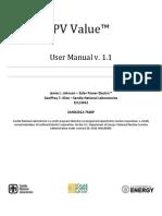 PV Value v1 1 User Manual