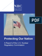 #nuclear - Protecting Our Nation (USNRC, 2011), NUREG/BR-0314 r3