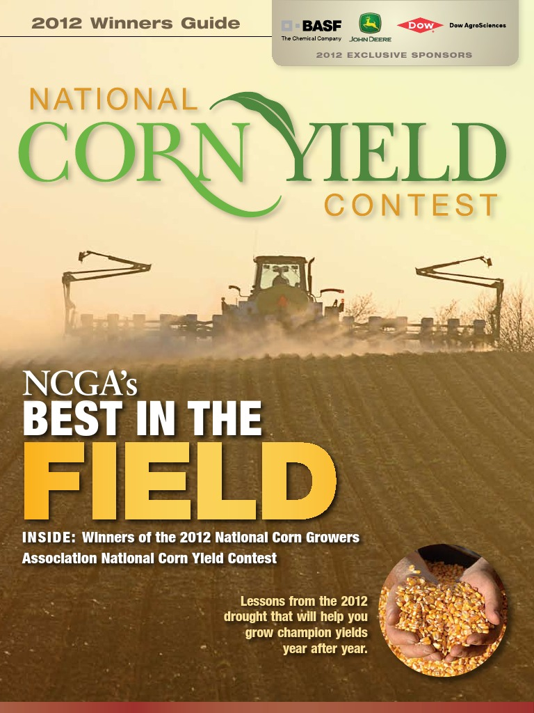 National Corn Yield Contest Guide 2012 | Maize | Mobile Device