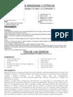PAN DE MANZANAS Y CÍTRICOS