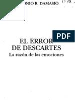 El Error de Descrates_Damasio Antonio