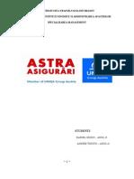 Plan Marketing - Astra Asigurari