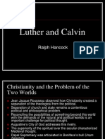 Luther and Calvin