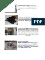 MAQUINAS DE ESCRIBIR CON SU DESCRIPCION.docx