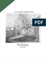 Heddon Methodist Church Centenary 1877-1977