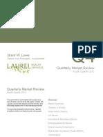 2012 4th Quarter Capital Market Performance
