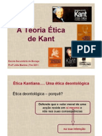 A Teoria Etica de Kant