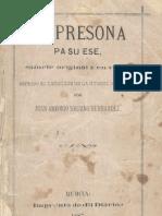 CA PERSONA PA SU ESE - Juan Antonio Soriano Hernandez (1887)