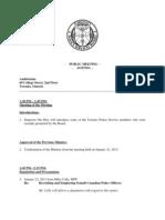 2013 TPSB Feb 19 Agenda