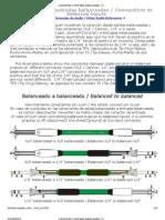 Conexiones a Entradas Balanceadas _ Connections to Balanced Inputs _ Referencias de Audio Profesional _ Pro Audio Reference