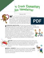Principal's Newsletter Feb09