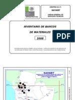 2008 SCT Bancos de Materiales Nayarit