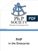 PHP in the Enterprise