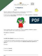 Ficha Informativa - Adjetivos