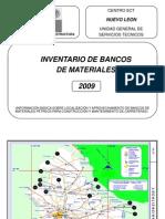 2009 SCT Bancos de Materiales Nuevo Leon