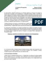 Boletín Oración 01.2013