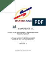 Estudios Topograficos Informe de Topografia