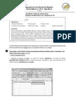 Tarefa Excel-Proporcionalidade Direta