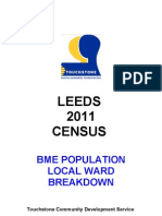Leeds 2011 Census Ward Breakdown Feb 2013