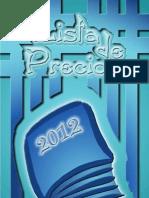 Precios 2012