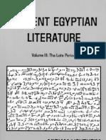 Miriam Lichtheim-Ancient Egyptian Literature_ Volume III_ the Late Period-University of California Press (1980)