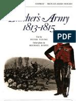 Osprey, Men-At-Arms #009 Blucher's Army 1813-1815 (1973) OCR 8.12