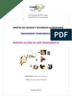 Práctica y resultados DETECCIÓN DE ADN TRANSGÉNICO (1)